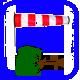 Baum / Ast > Droht umzustürzen